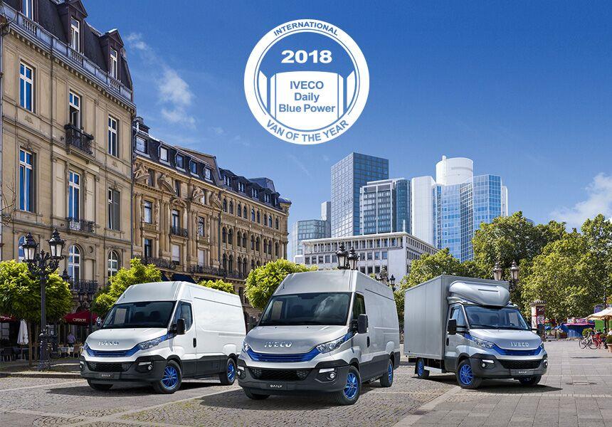 """Línea Daily blue power de IVECO recibe el premio """"International van of the year 2018"""""""