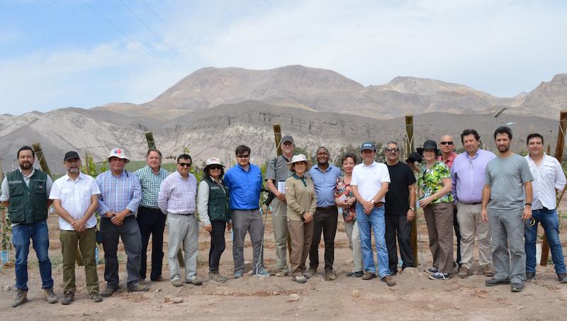 SAG se reunió con Delegación del Departamento de Agricultura de EE.UU