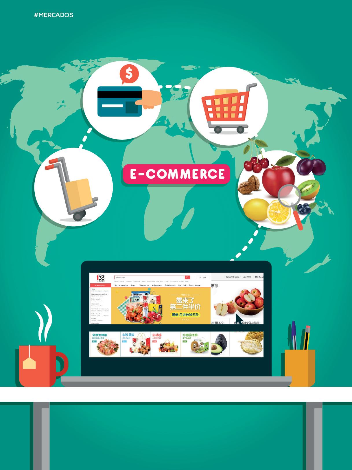 Alibaba busca concretar acuerdo con empresas de alimentación española