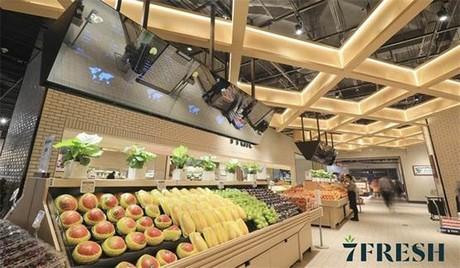 China presenta supermercados de alta gama