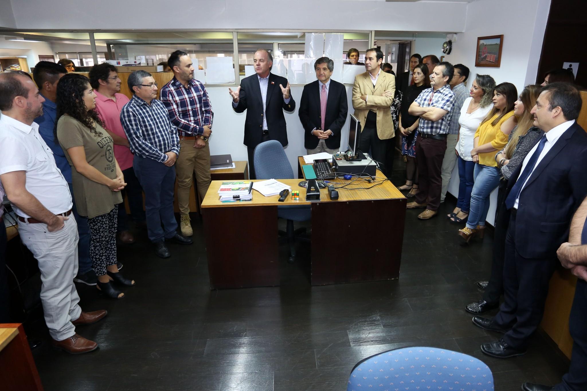 Carlos Recondo asume como nuevo Director de Indap