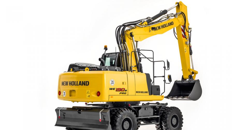 New Holland Construction dio a conocer su excavadora de última generación