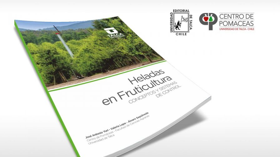Editorial de la Universidad de Talca presenta libro sobre heladas en fruticultura
