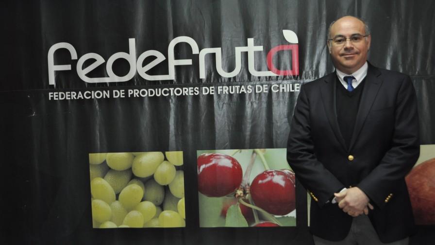 Jorge Valenzuela es el nuevo presidente de Fedefruta