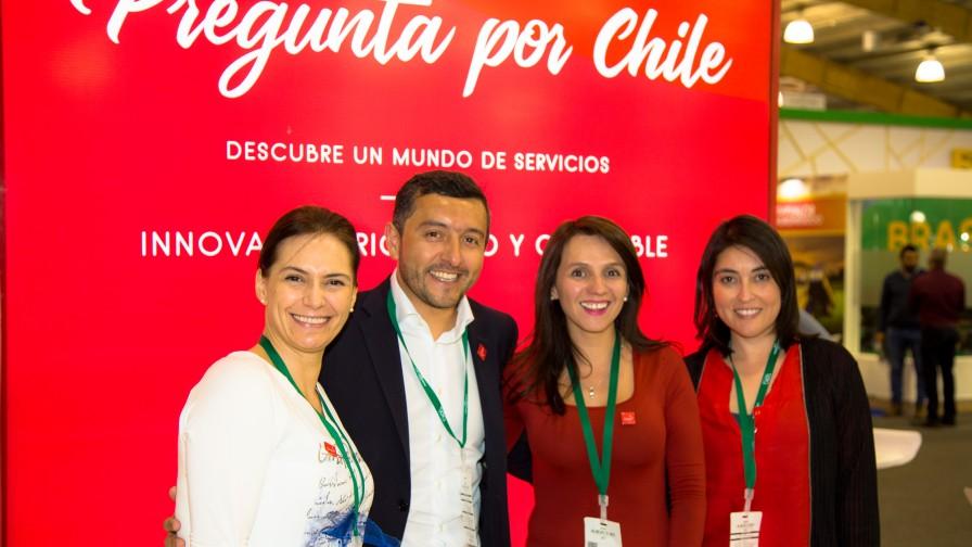 Viveros de Chile participaron en Expo AgroFuturo en Colombia