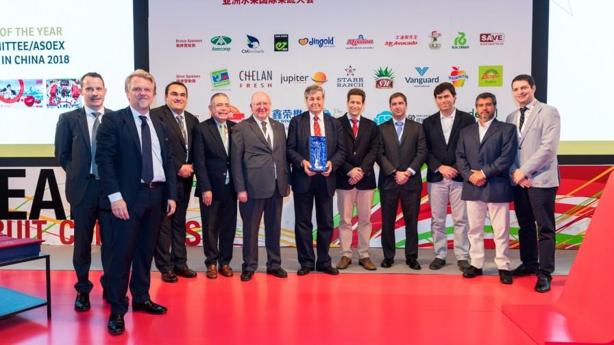 Cerezas chilenas fueron premiadas en Asia Fruit Award