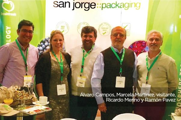 San Jorge Packaging presente en Asia Fruit 2018