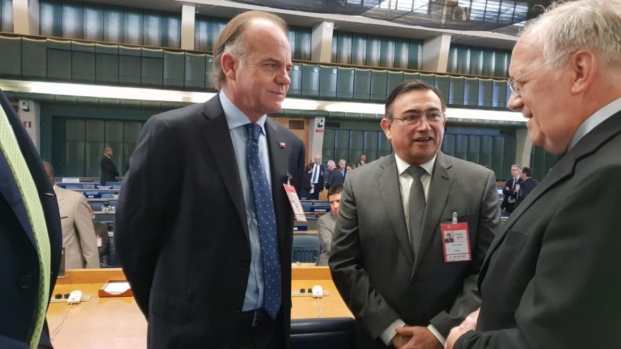 Ministro Walker participó en  Comité de Agricultura de la FAO