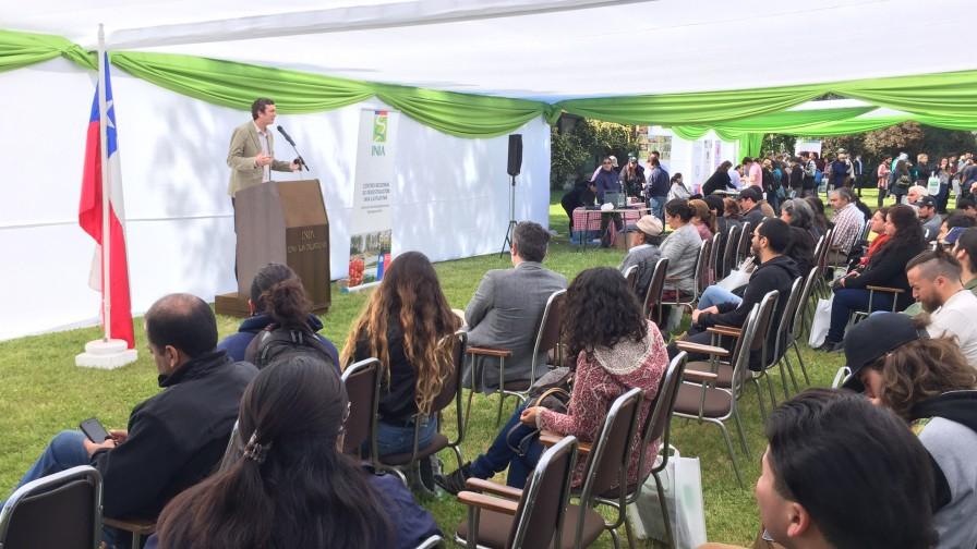 INIA La Platina dio a conocer el aporte que realiza a la agricultura nacional