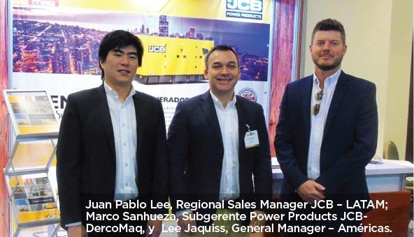 JCB presente en Expo Energía 2018