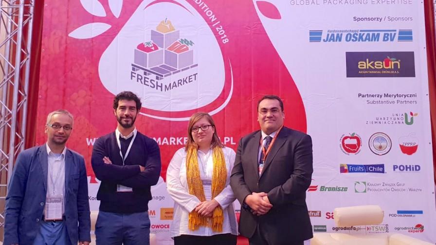Fruta Chilena busca oportunidades en Polonia