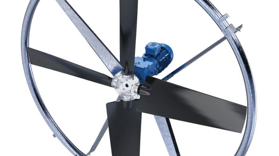 Presentan ventilador Cool – Cow para aumentar el confort del animal