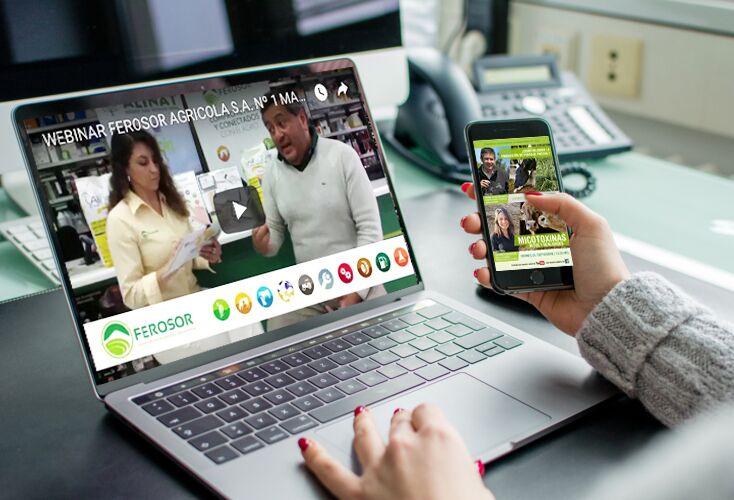 Ferosor ofrece a sus clientes webinars, seminarios interactivos vía web