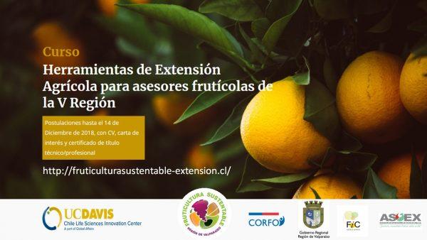 Nuevas herramientas para asesores frutícolas