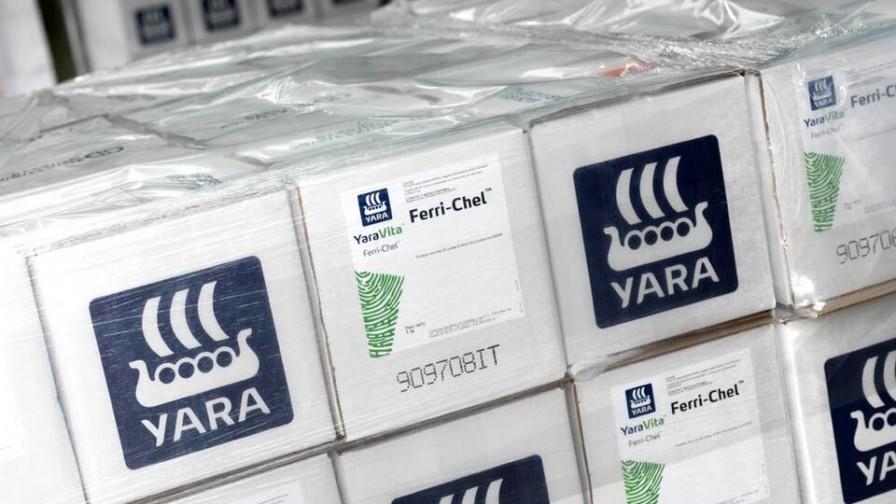Yara por el mercado de fertilizantes en Chile