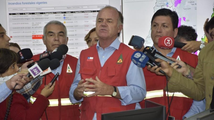 Minagri apunta a máximo rigor de la ley para quienes ocasionen incendios forestales