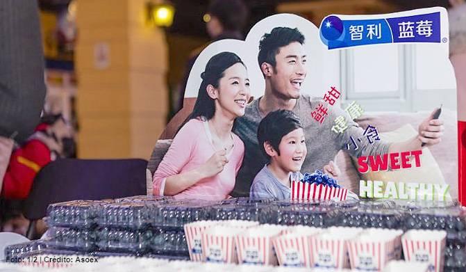 Blue Pop: Campaña que promueve los arándanos chilenos en los cines de China