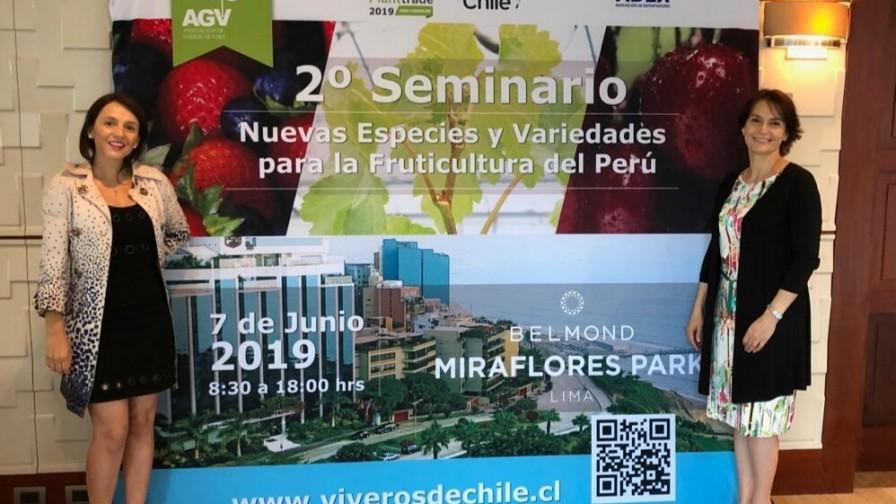 Viveros de Chile participó en el 20º Almuerzo Agroexportador de ADEX Perú