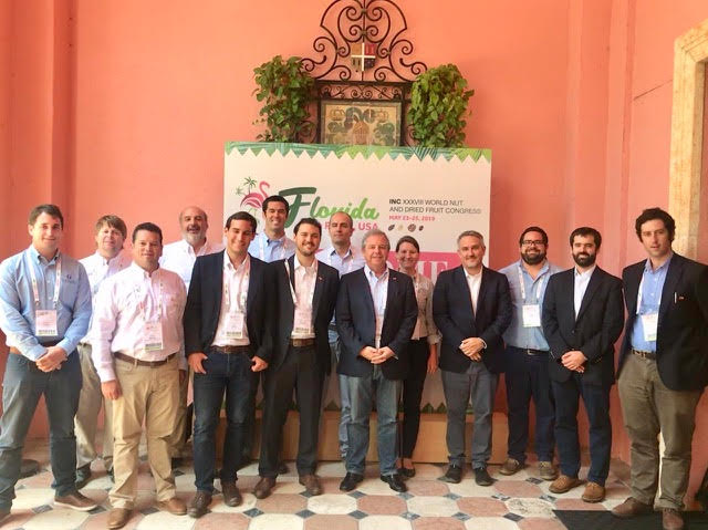 Destacada presencia chilena en Congreso International Nut & Dried Fruit Council (INC)
