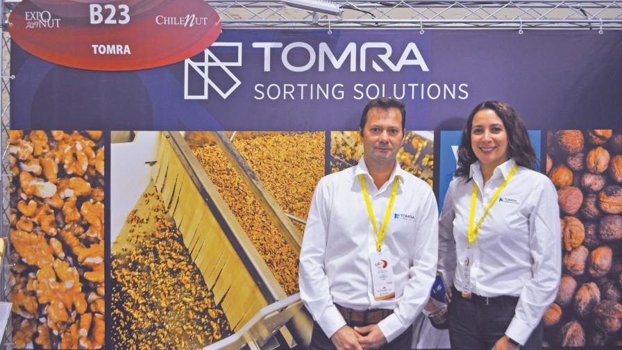 TOMRA Food apoya a los procesadores de nueces durante Exponut 2019