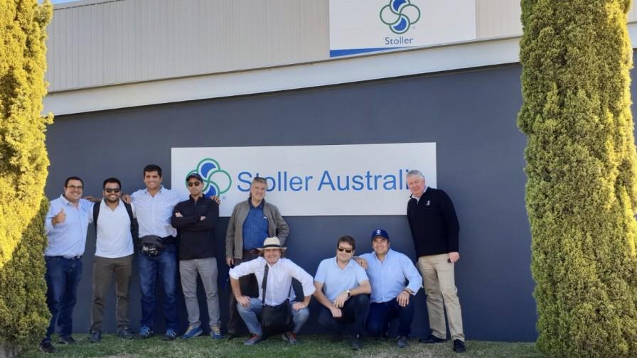 Stoller de Chile realizó una gira técnica a Australia