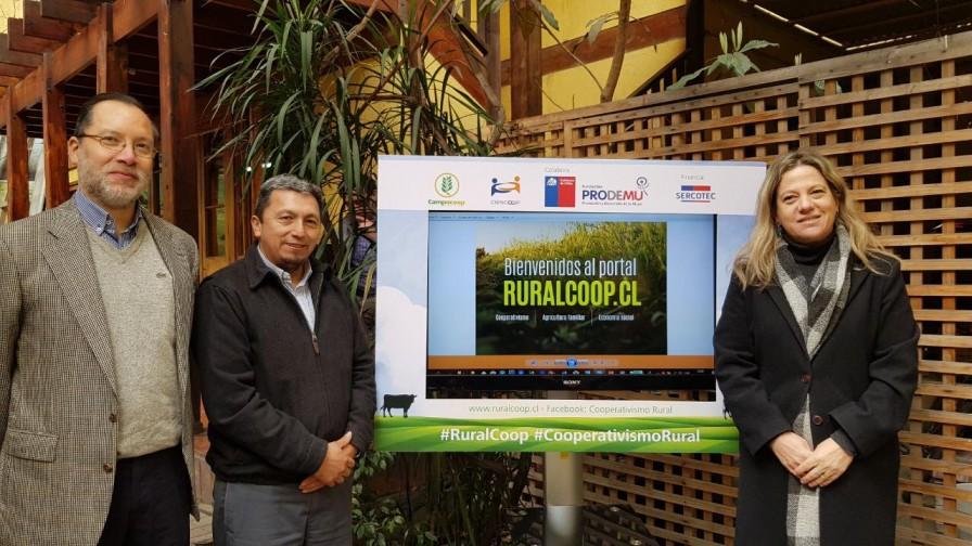 """Lanzan """"Rural coop"""" la plataforma para el cooperativismo rural en Chile"""