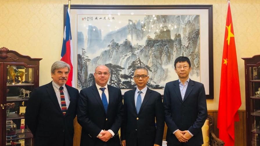 Fedefruta avanza en materias de comercio hortofrutícola con embajador chino