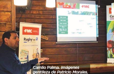 FMC y COPEVAL organizaron jornada de actualización sobre el cerezo