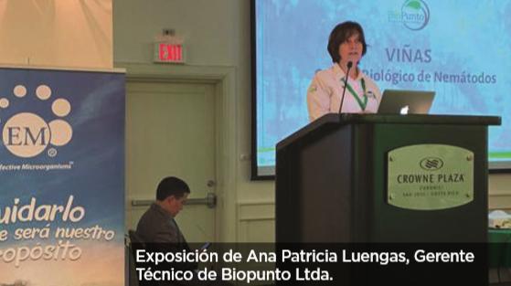 Biopunto Ltda. presente en el XIII Seminario Internacional De La Tecnología Em™ en Costa Rica