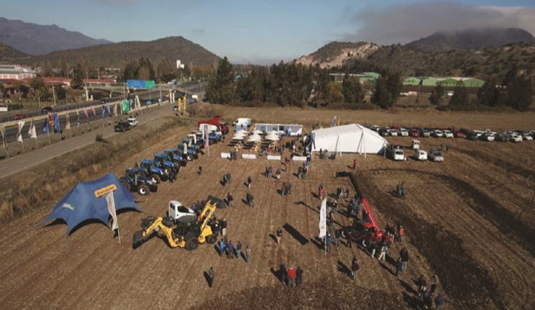 Día de campo Sigdotek en Pelequén