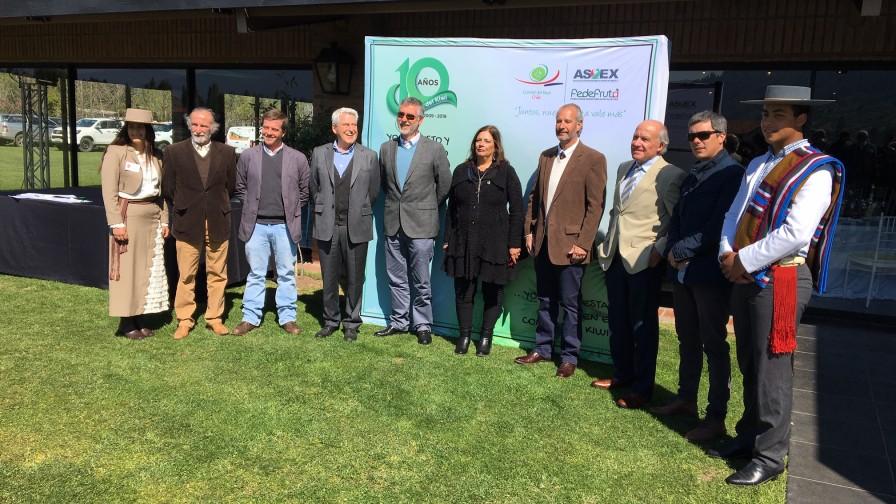 Se reafirma compromiso con el kiwi chileno durante aniversario del comité en Curicó