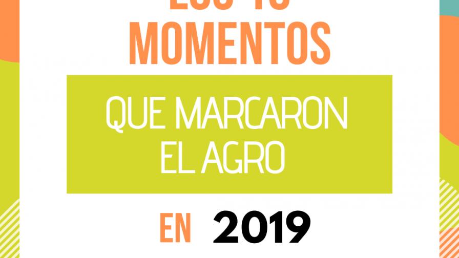 Resumen de año:  Los 10 momentos que marcaron el agro este 2019