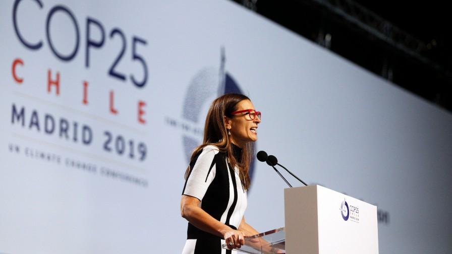 Necesario aumentar ambición climática, señala Schmidt en inauguración de COP25