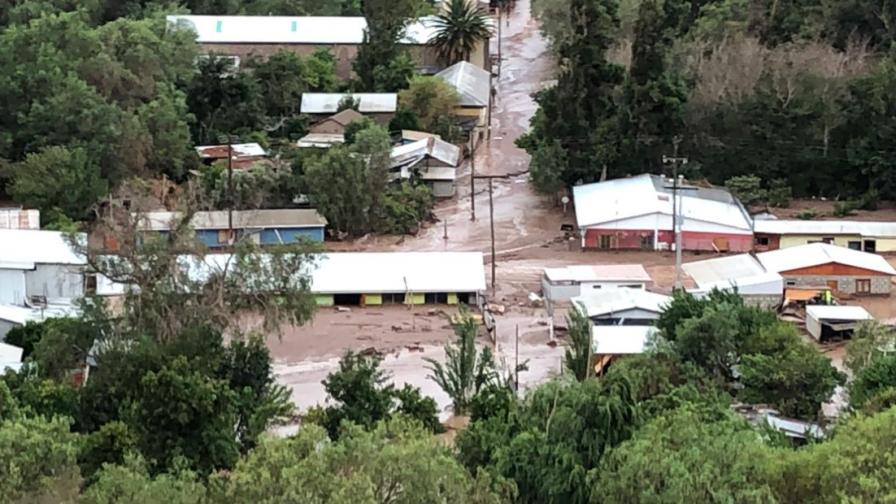 Daños en huertos de uva de mesa tras lluvias y aluvión en Atacama