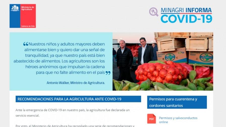 MINAGRI Informa: el nuevo sitio del gobierno con recomendaciones para el agro