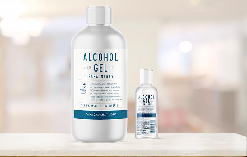 Laboratorio de Concha y Toro diagnosticará COVID-19 y viña producirá alcohol gel