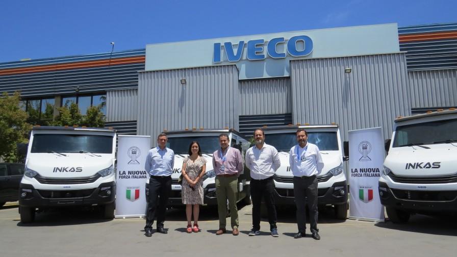 Iveco Daily y subsidiaria Inkas entregan 12 unidades para el transporte blindado de valores
