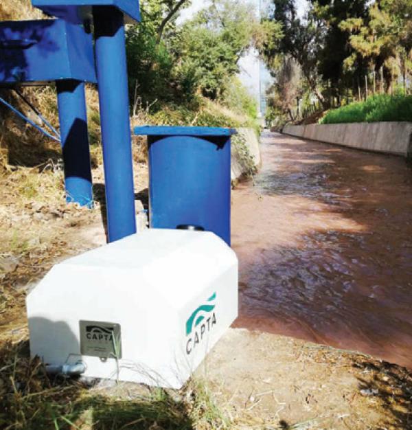 Distribución eficiente:  uso de telemetría y telecomandado para una gestión eficiente del agua