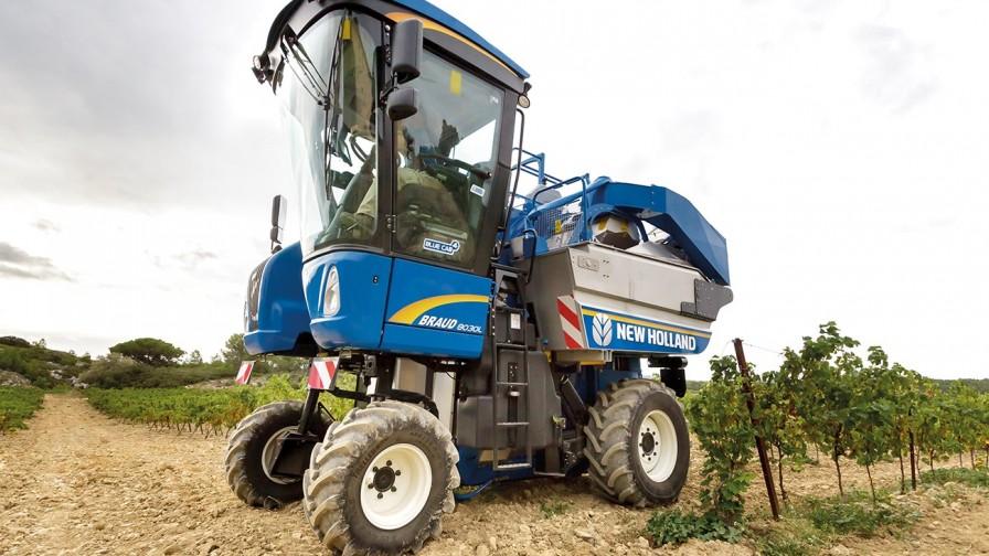New Holland lanza el nuevo despalillador Combi-Grape para las vendimiadoras Braud