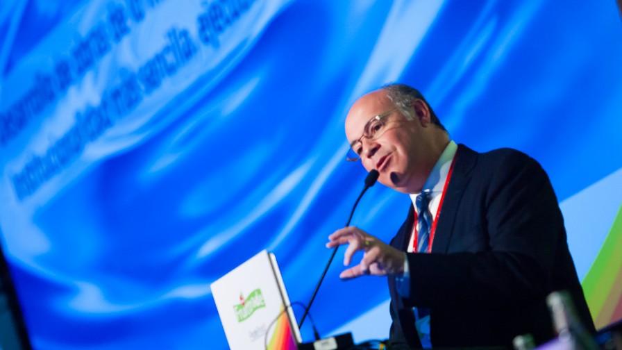 """""""La crisis hídrica del país es un problema estructural"""", afirma Jorge Valenzuela presidente de Fedefruta"""