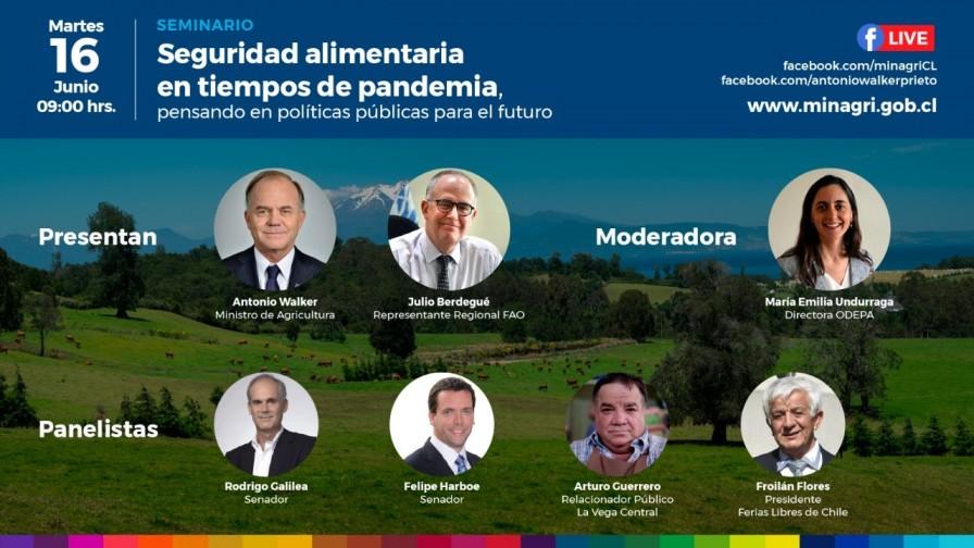 MINAGRI realizará seminario online sobre seguridad alimentaria durante pandemia