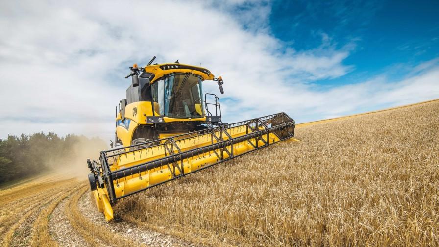 New Holland Agriculture lanza la serie de cosechadoras CH CROSSOVER HARVESTING