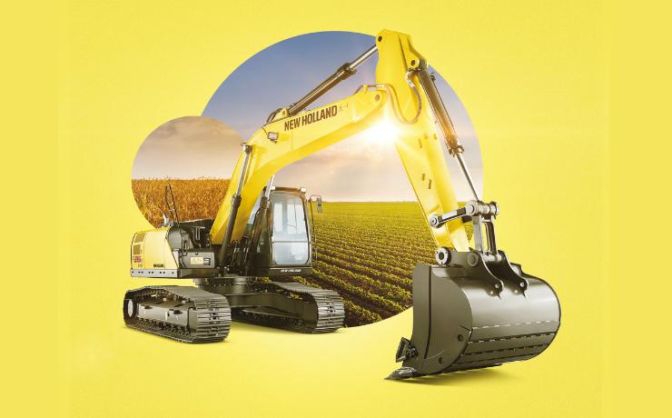Excavadoras New Holland: eficiencia, alta productividad y tecnología de punta