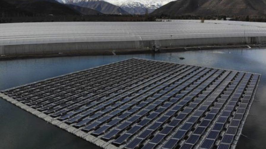 Se inaugura primera planta fotovoltaica flotante en Chile