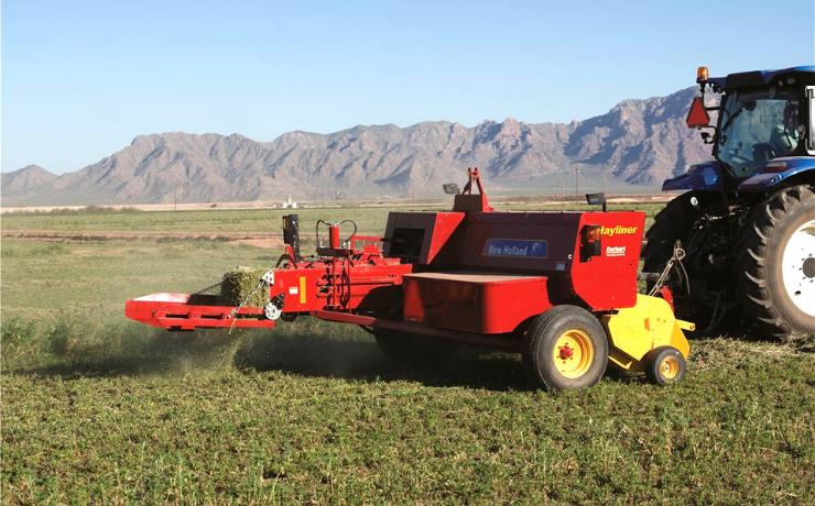 New Holland Agriculture presenta empacadoras de gran capacidad