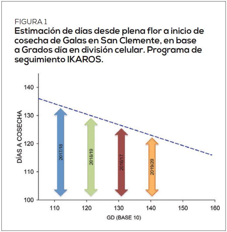 Impacto del nuevo escenario climático para la producción de manzanos y cerezos