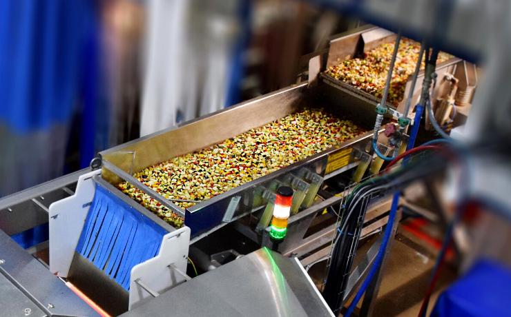 """Tecnología de clasificación BSI+ cumple la """"misión imposible"""" de los procesadores de verduras IQF"""