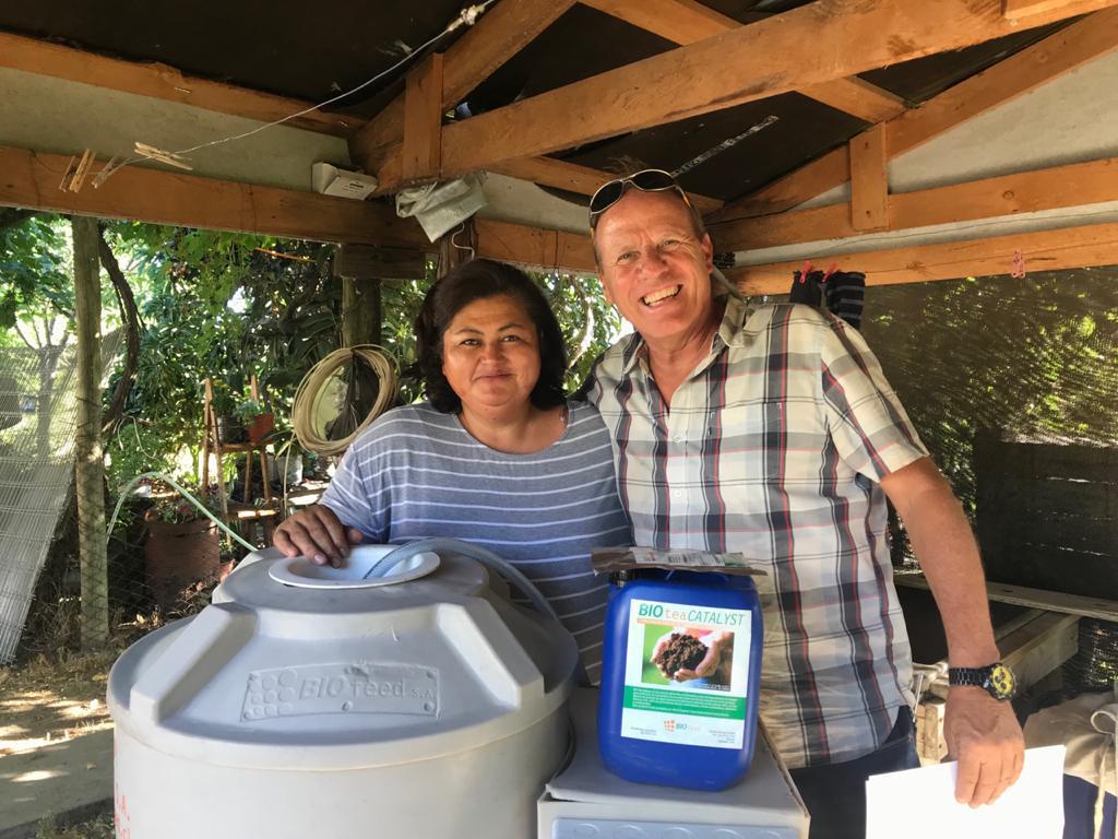 Chilenos inventan tecnología agrícola que beneficia el ahorro del 50% en consumo hídrico