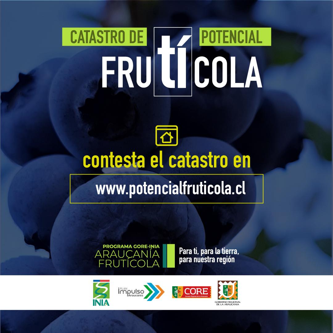 Catastro de Potencial Frutícola apoyará a agricultores de La Araucanía a identificar oportunidades de crecimiento en fruticultura