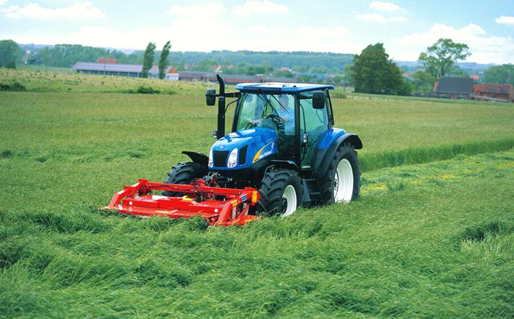 Versatilidad máxima: New Holland Agriculture presentó los tractores de la línea T6000